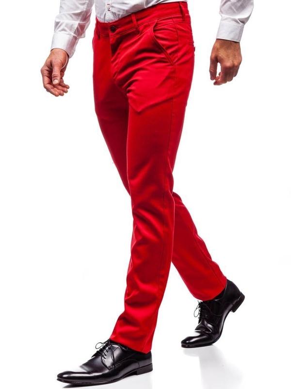 Брюки мужские красные Bolf 3149