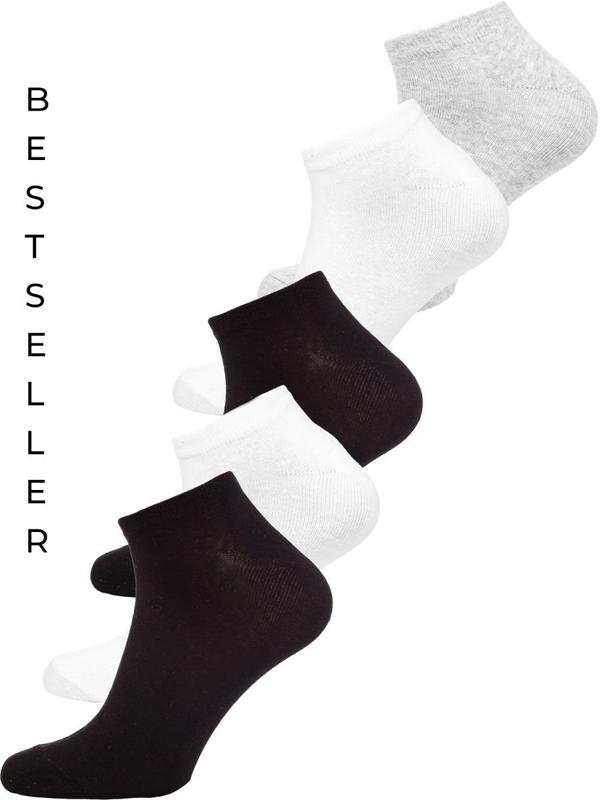 Мужские многоцветные короткие носки Bolf X10161-5P 5 PACK