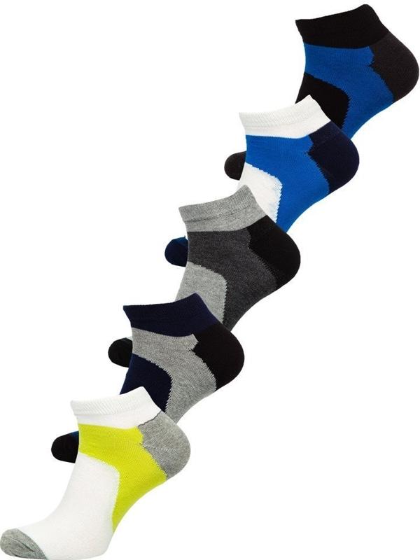 Мужские носки мультиколор Bolf X10059-5P 5 шт.