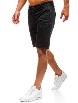 Мужские шорты черные Bolf 3041