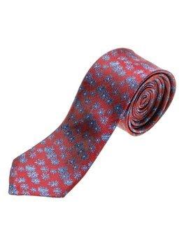 Мужской элегантный галстук бордовый Bolf K107