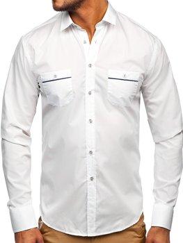 Рубашка мужская BOLF 5792 белая