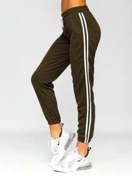 Хаки женские шорты Bolf YW01020D