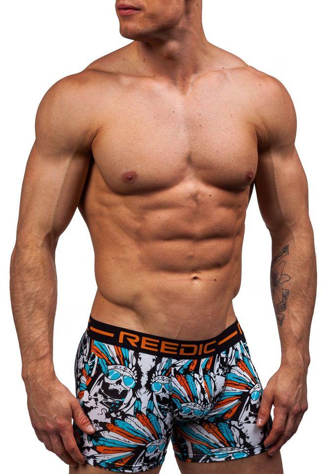 d8621b88803d7 Оранжевые мужские трусы боксеры Bolf X203