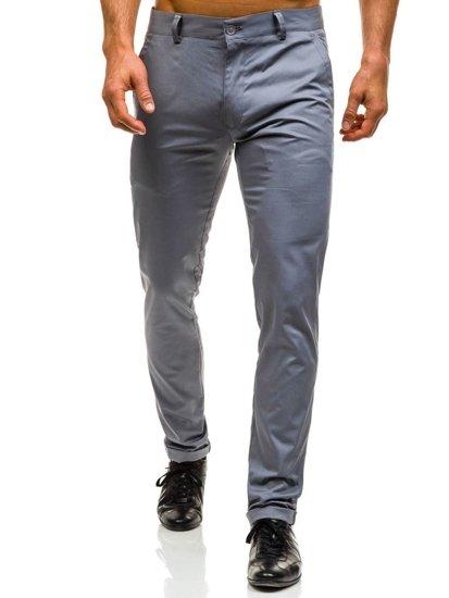 Мужские брюки серые Bolf 0204
