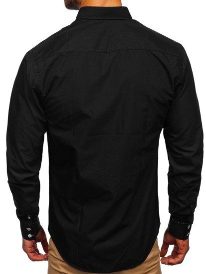 Рубашка мужская BOLF 5797 черная