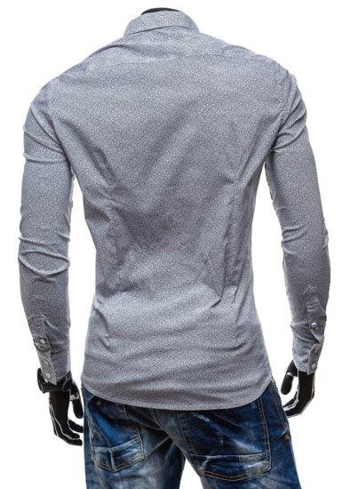 Рубашка мужская N. Men 7182 белая