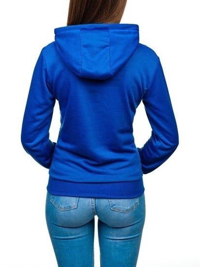 Толстовка женская синяя Bolf WB11001-A