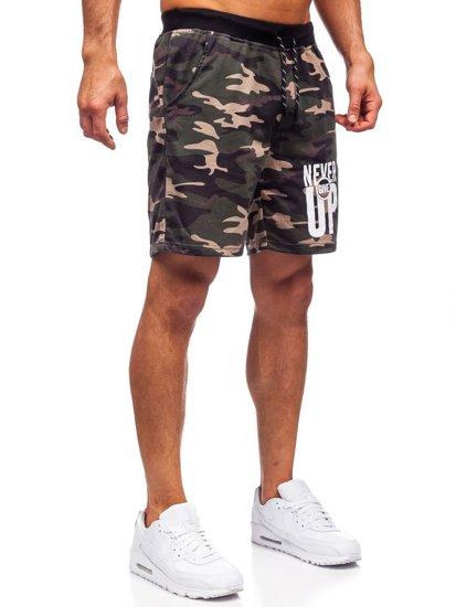 Хаки мужские спортивные шорты Bolf KS2581