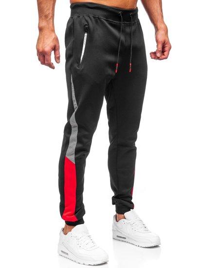 Черные мужские спортивные брюки Bolf K10121