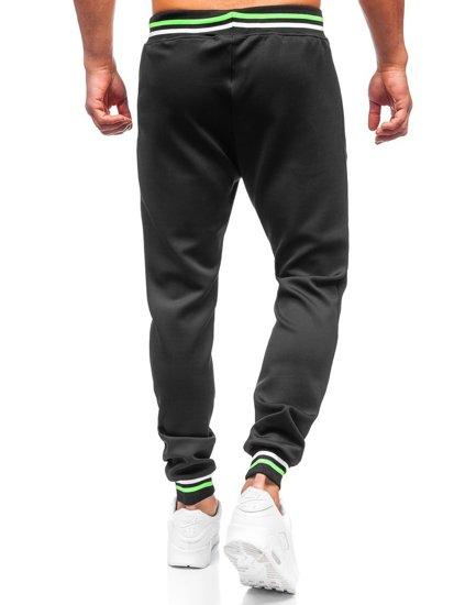 Черные мужские спортивные брюки Bolf K10231
