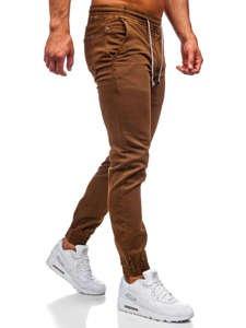 Коричневые мужские брюки джоггеры Bolf CT8808
