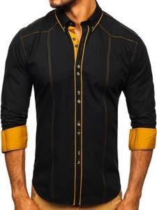 Рубашка мужская BOLF 4777 черная