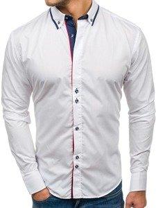 Рубашка мужская BOLF 6857 белая