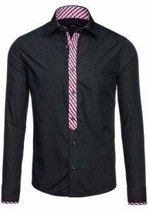 Рубашка мужская BOLF 6867 черная