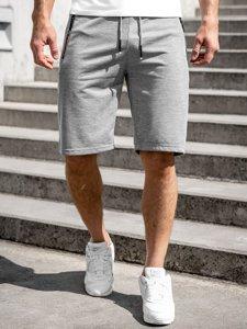Серые мужские спортивные шорты Bolf JX511