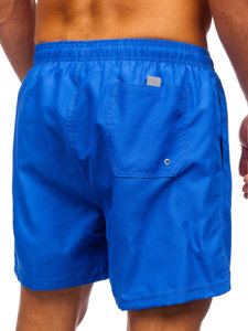 Синие мужские пляжные шорты Bolf YW02001