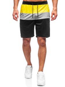 Черные мужские спортивные шорты Bolf KS2565