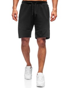 Черные мужские спортивные шорты Bolf KS2596