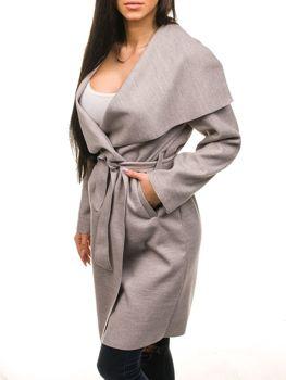 Бежеве жіноче пальто Bolf 1729 9b451b9ed2fc7