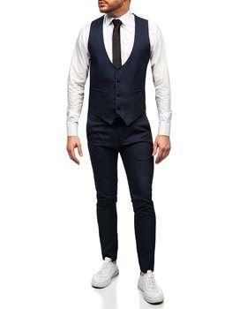 Графітовий костюм чоловічий жилет і штани Bolf 0019