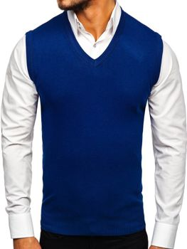 Жилет чоловічий синій Bolf H1939