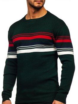 Зелений чоловічий светр Bolf H2061