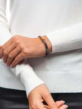 Коричневий жіночий браслет Bolf B031
