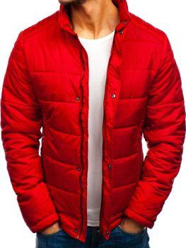Куртка чоловіча демісезонна червона Bolf 83338