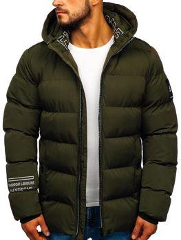 Куртка чоловіча зимова хакі Bolf 5973