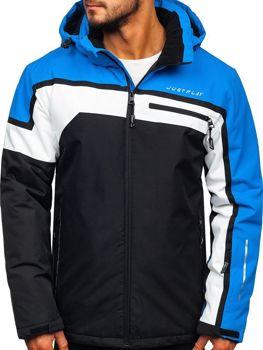 Куртка чоловіча лижна синя Bolf 1339