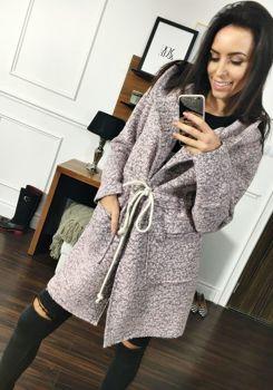 Рожеве жіноче пальто Bolf 6219