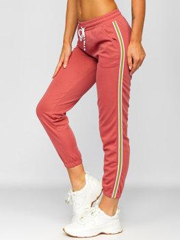Рожеві жіночі спортивні штани Bolf YW01020B