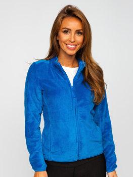 Синя флісова жіноча толстовка Bolf HH001