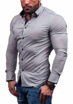 Сорочка чоловіча N. Men 7188 сіра