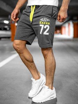 Спортивні чоловічі шорти графітові Bolf EX05