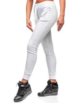 Спортивні штани жіночі білі Bolf WB11003-А