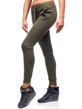 Спортивні штани жіночі хакі Bolf WB11003-А