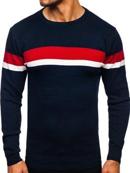 Темно-Синій чоловічий светр Bolf H2072