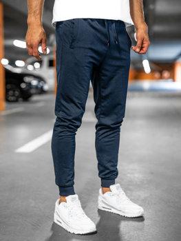 Темно-сині чоловічі спортивні штани Bolf 68K10001