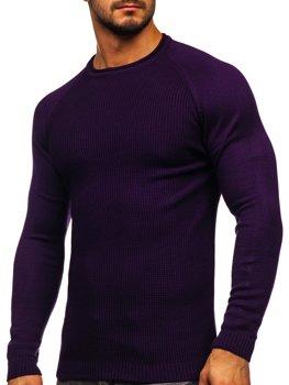 Фіолетовий чоловічий светр Bolf 1009