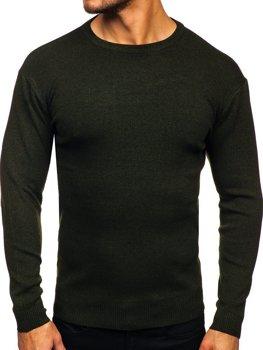 Хакі чоловічий светр Bolf H2060