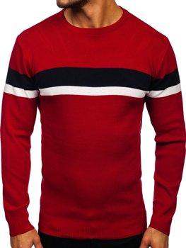 Червоний чоловічий светр Bolf H2072