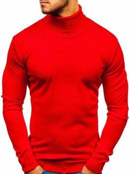 Чоловіча водолазка червона Bolf 2400