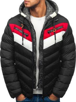 Чоловіча зимова куртка червона Bolf A117 ЧЕРВОНИЙ 45e9e942c264e