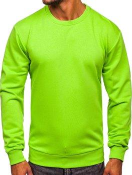 Чоловіча толстовка без капюшона світло-зелена Bolf 171715