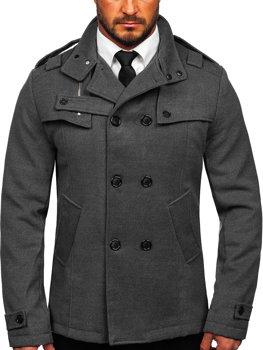 Чоловіче пальто сіре Bolf 8857 232c53ed3f4ec