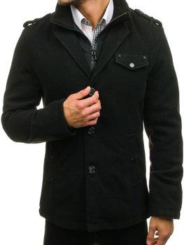 Чоловіче пальто чорне Bolf 8853A 1e5c636892636