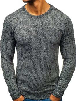 Чоловічий светр графітовий Bolf H1818