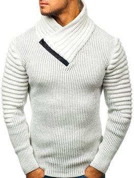 Чоловічий светр екрю Bolf 20002